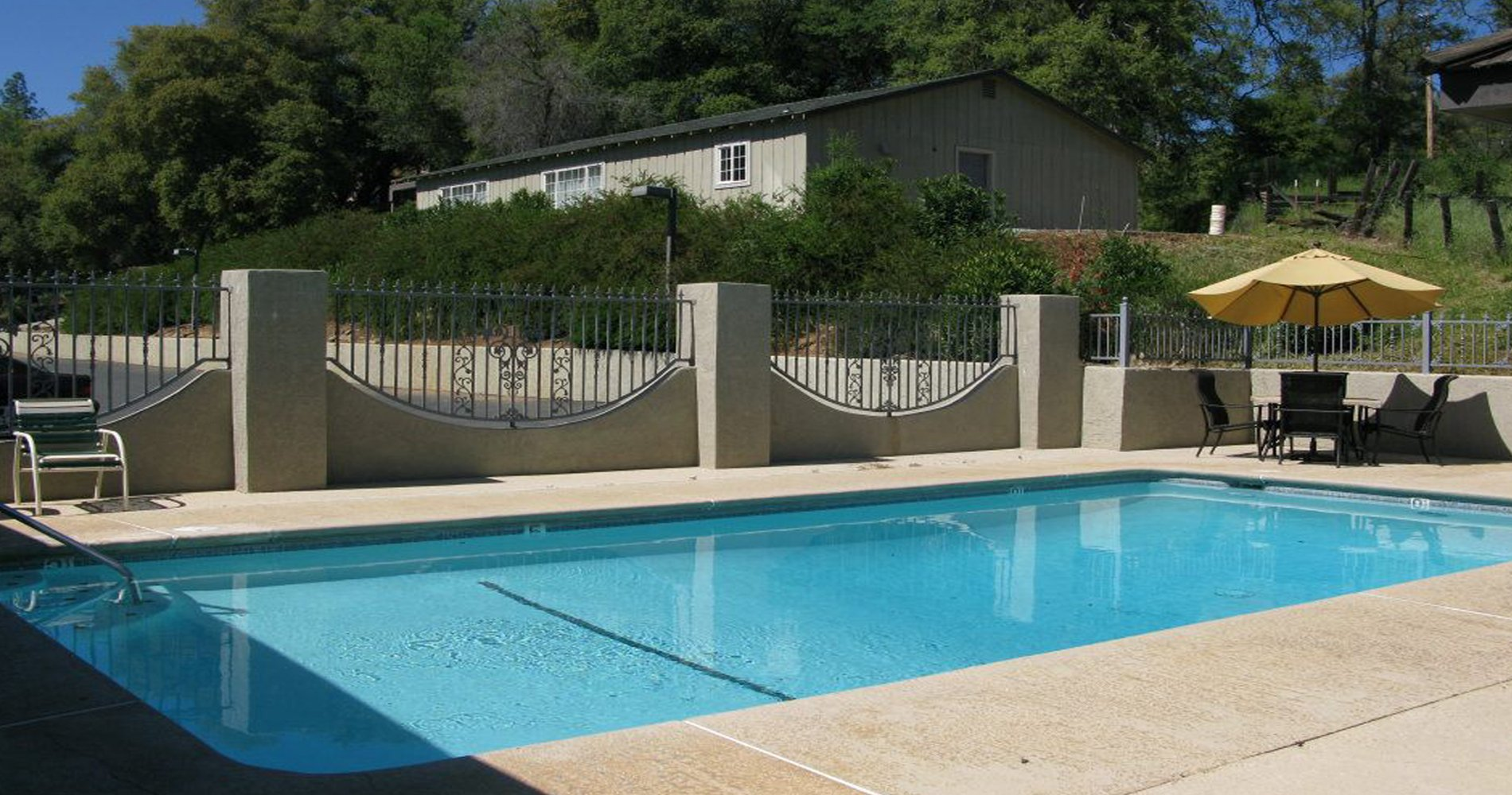 Soak Up The California Sun in Our Outdoor Pool